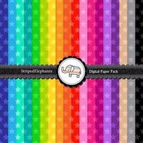 Kit Imprimible Pack Fondos Estrellas 2 Clipart