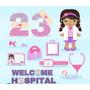 Kit Imprimible Doctora Juguetes Imagenes Clipart