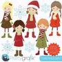 Kit Imprimible Invierno Frio Imagenes Clipart