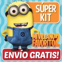 Kit Imprimible Mi Villano Favorito 2 Minions + Regalos