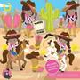 Kit Imprimible Vaqueros Cowgirl 2 Imagenes Clipart