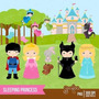 Kit Imprimible Princesa Bella Durmiente 2 Imagenes Clipart