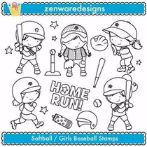 Kit Imprimible Beisbol 5 Imagenes Clipart