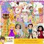 Kit Imprimible Enredados Rapunzel 3 Imagenes Clipart