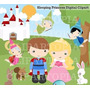 Kit Imprimible Princesa Bella Durmiente Imagenes Clipart