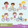 Kit Imprimible Bicicletas 2 Imagenes Clipart