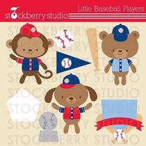 Kit Imprimible Beisbol Imagenes Clipart