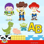 Kit Imprimible Toy Story Imagenes Clipart