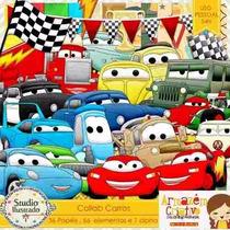 Kit Imprimible Cars 2 Imagenes Clipart