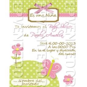 9395737a000db Invitaciones Baby Shower Niña - Otras Categorías en Mercado Libre Venezuela