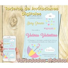 70b3dc292d967 Tarjetas Invitacion Para Baby Shower - Otras Categorías en Mercado Libre  Venezuela