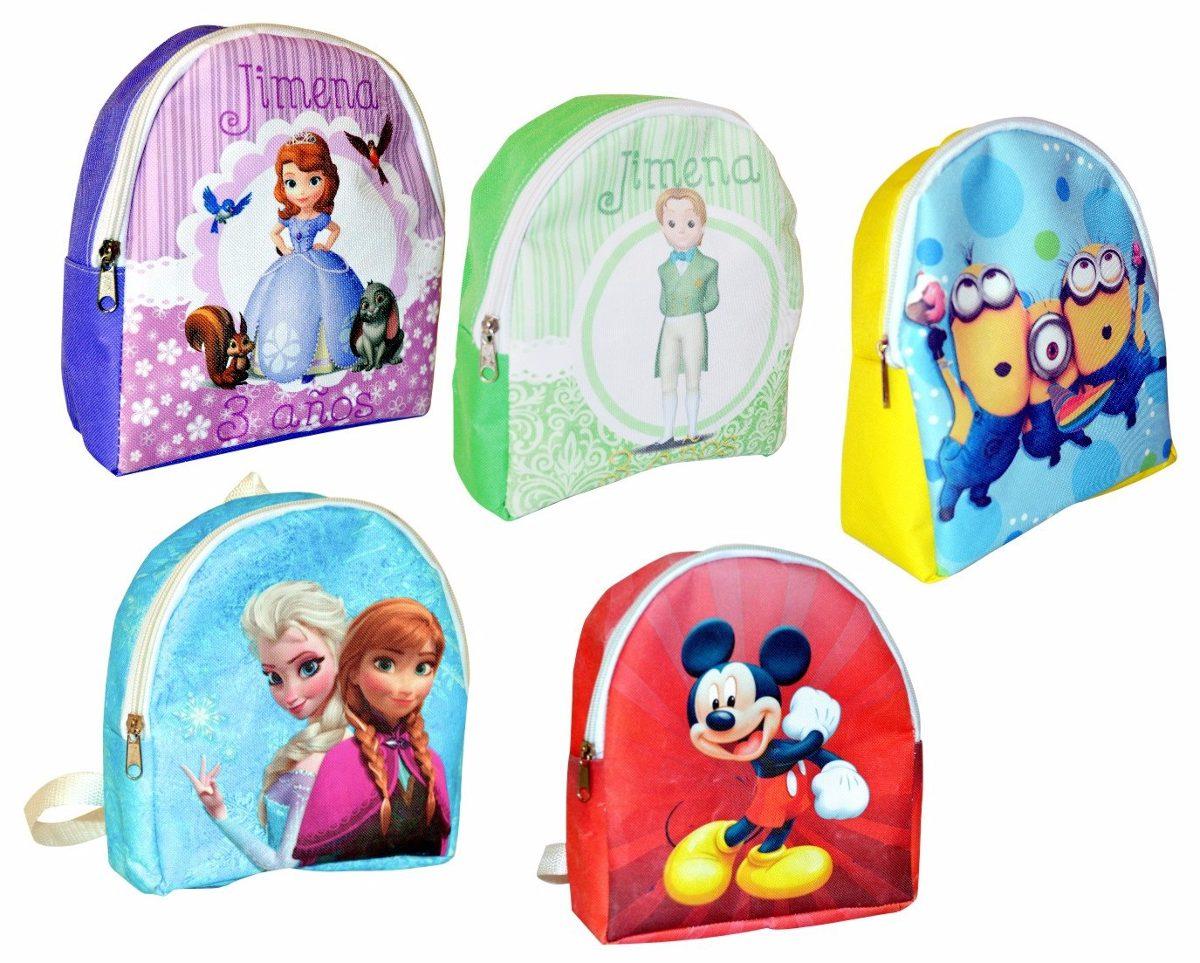 50 mochilas personalizadas dulceros recuerdos cumplea os for Regalos para fiestas de cumpleanos infantiles