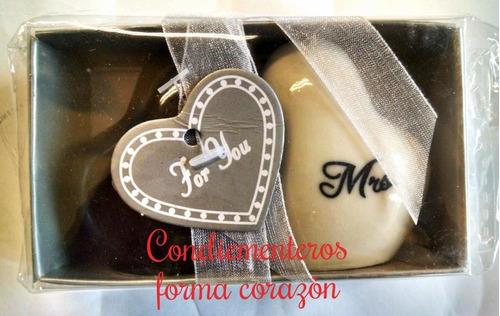 recuerdos de bodas,shower,cumpleaños,set condimenteros