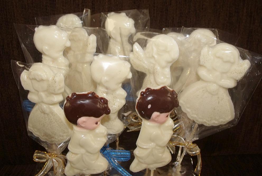 recuerdos de primera comunion en chocolate