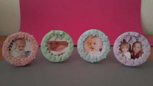 recuerdos masa flexible, baby shower, bautizos, nacimientos