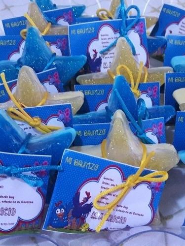 recuerdos para fiesta de jabón personalizados