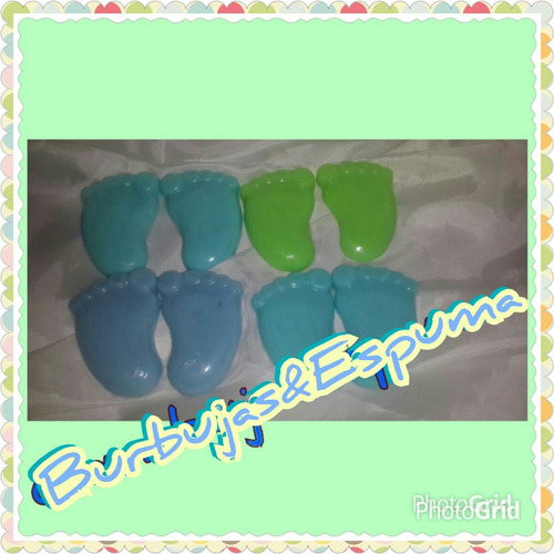 recuerdos piecitos baby shower y nacimientos clinica