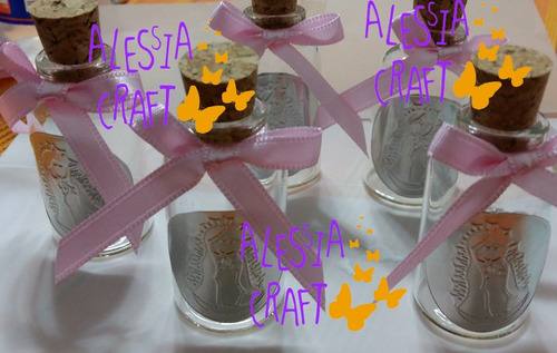 recuerdos primera comunion: botellitas para agua bendita