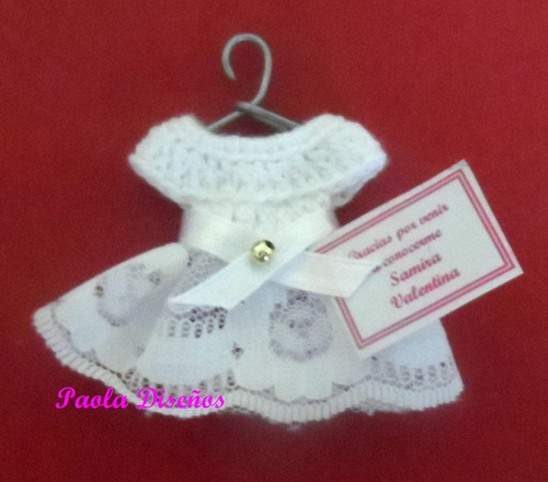 recuerdos tejidos para baby shower, nacimiento