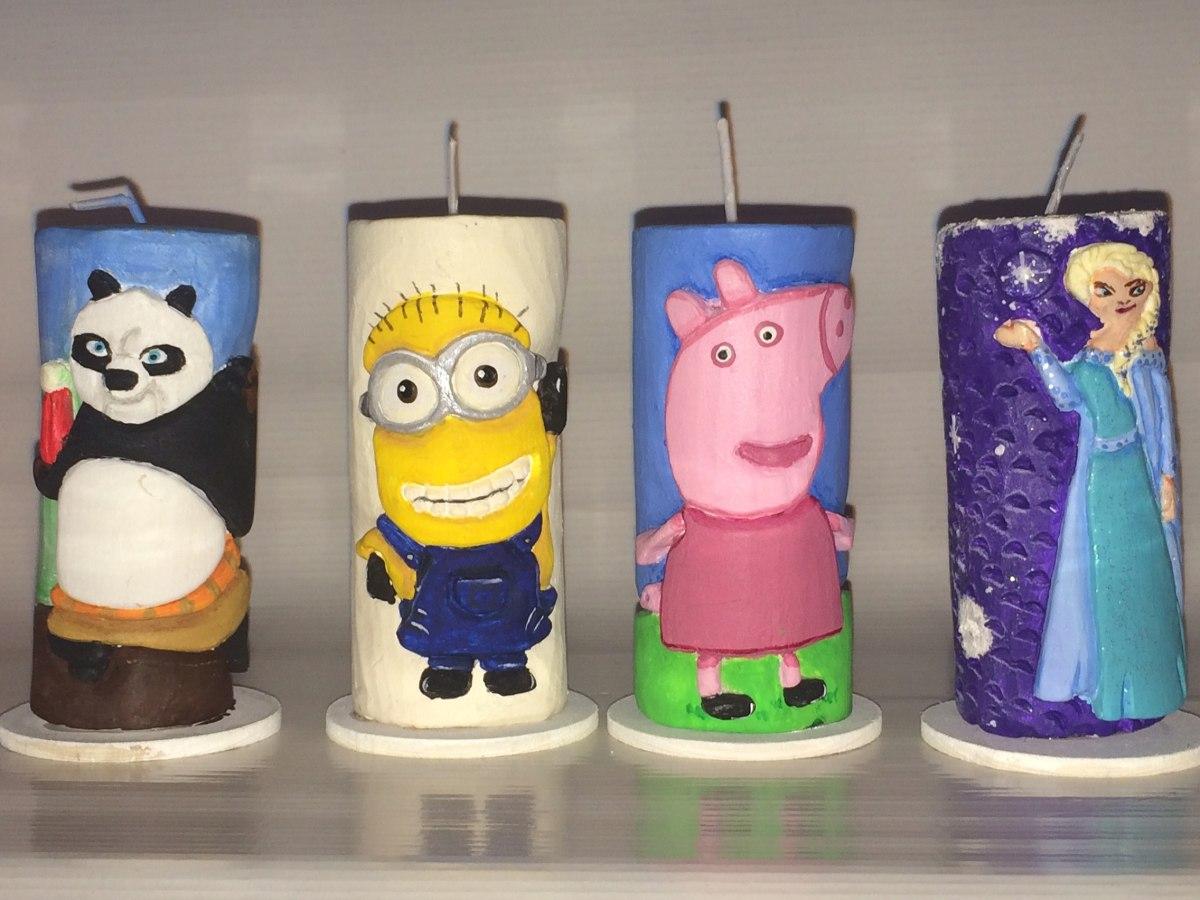 Recuerdos velas talladas a mano personalizada bs 150 00 en mercado libre - Velas talladas ...