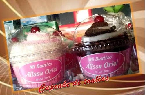 recuerdos,cupcake , de toallas,cumpleaños,bautizos,quince