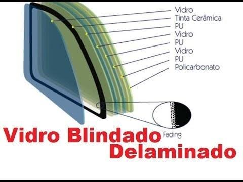 recuperaçao de vidros blindados (delaminação)