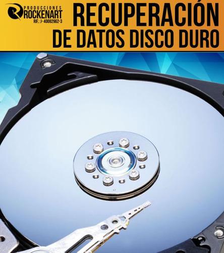 recuperación datos disco duro pc laptop en altamira