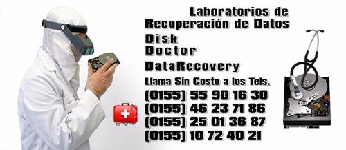 recuperacion de datos discos duros, arreglos raid y usb