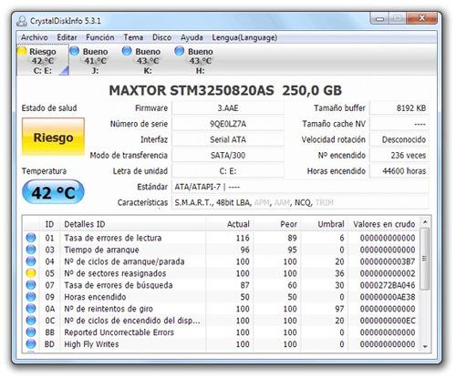 recuperación de datos y reparacion de disco duros