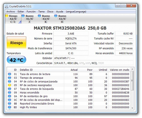 recuperación de datos y reparacion de disco duros y pendrive