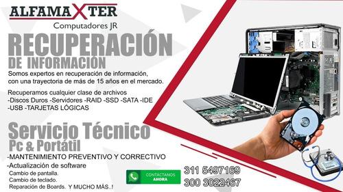 recuperación de información - servicio técnico pc & portátil