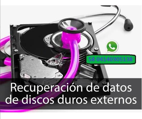 recuperación información de discos duros y memorias