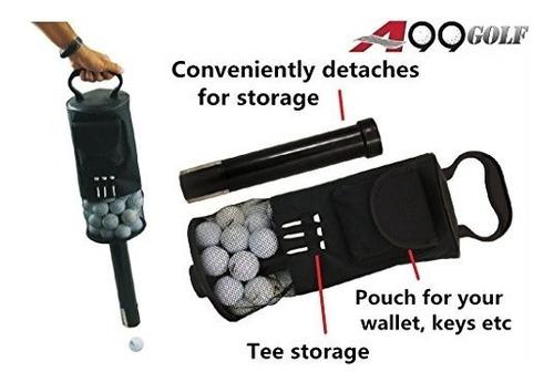 recuperador de bolaspelota de golf bolsa de pelusa ii pic..