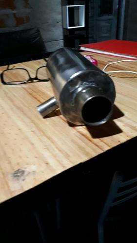 recuperador de gases de venteo competición inox