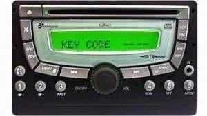 recuperar key code código do radio ford