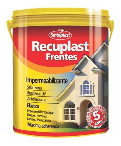 recuplast frentes impermeabilizante sinteplast  x 20 lts + regalo