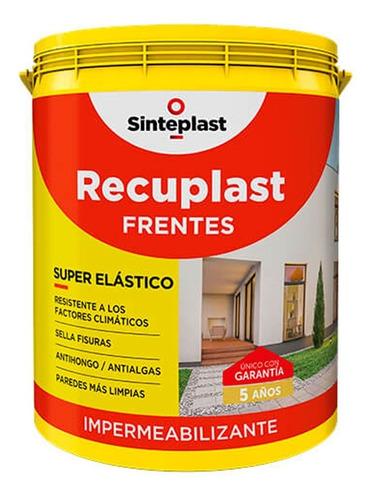 recuplast frentes x 20 lts bco impermeabilizate sinteplast