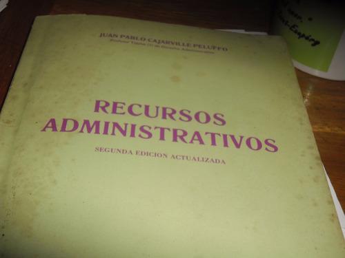 recursos administrativos carjaville peluffo  1989