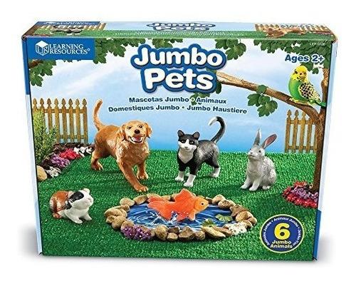 recursos de aprendizaje jumbo domestic pets