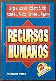 recursos humanos. 2° ed. aquino. ed. macchi