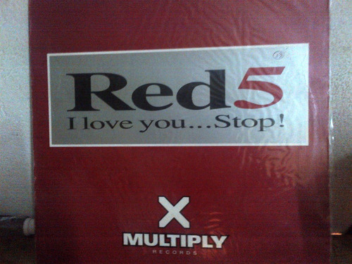 red 5 - i love you...stop! vinyl musica electronica