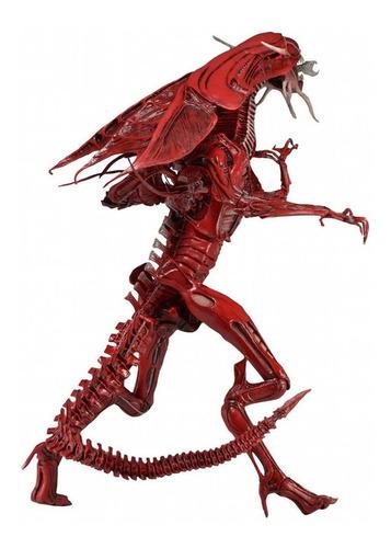 red alien xenomorph queen - reina aliens neca deluxe box