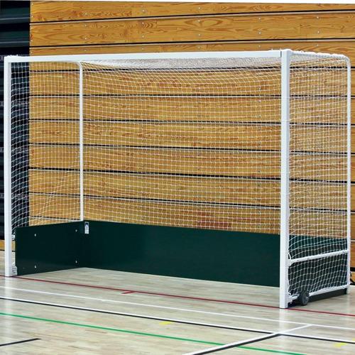 red arco hockey sobre cesped 3.80x2.20.m cajon 1.m reforzada