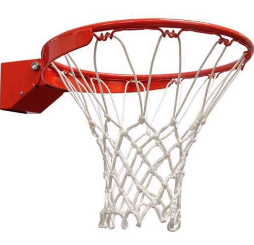 red basquet basket profesional doble - uso intensivo exterior - reglamentaria - 12 enganches - muy duradera