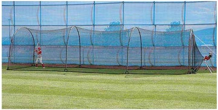 Red Bateo Entrenamiento Baseball Practica Jaula 36 Pies   J ... 6a649cdda5f98