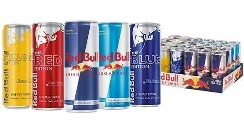 red bull all mix bebida energetica 24 pack envio gratis
