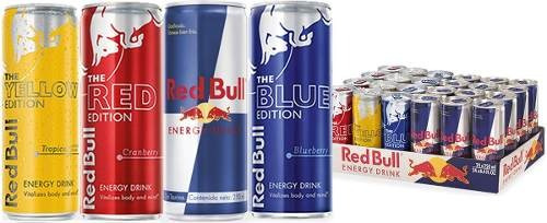 red bull mix sabores bebida energetica 24 pack envio gratis