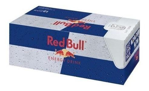 red bull regular bebida energetica 12 pack
