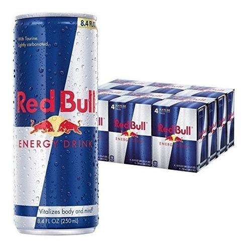 red bull regular bebida energetica 24 pack envio gratis
