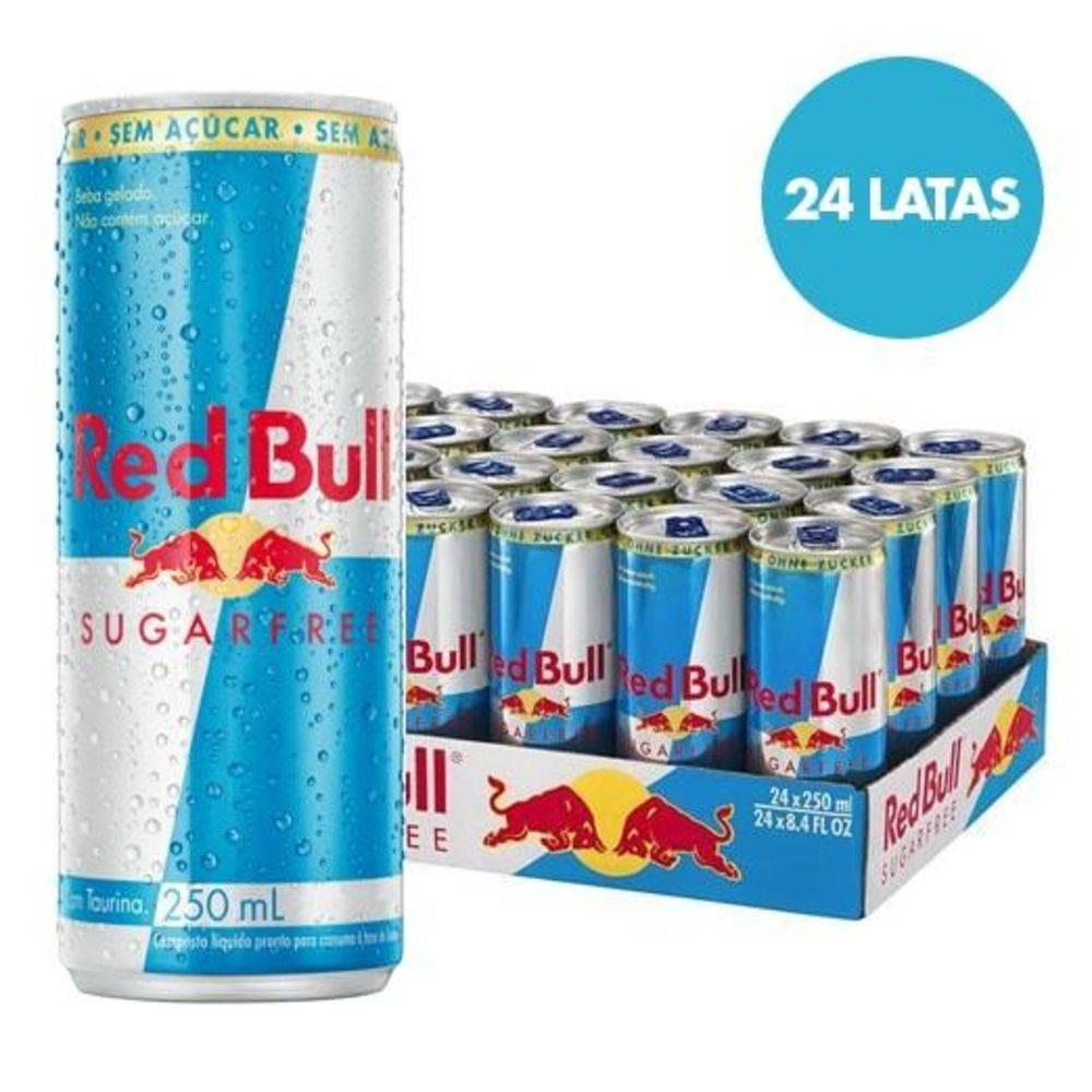 451ba542a634f red bull sugar free caixa 24 latas - sem açúcar frete grátis. Carregando  zoom.